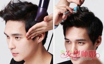 男生速学怎样把头发吹得蓬松教程 男生多久能学会吹头发
