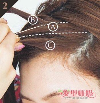 刘海蜈蚣辫的编法图解步骤 刘海如何编辫子