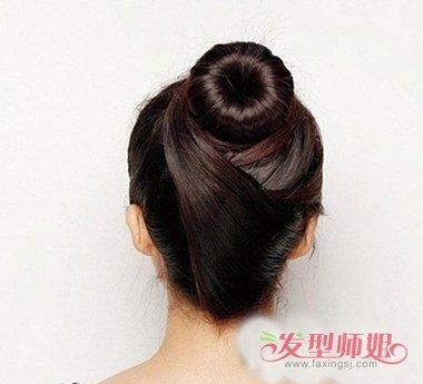 蜈蚣盘发器使用方法_怎样用海绵盘发器盘出各种头发呢 使用盘发器怎样盘头发(3)_发型 ...