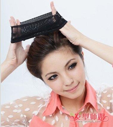 头发很长还可以戴假发吗 长发怎么戴假发步骤图