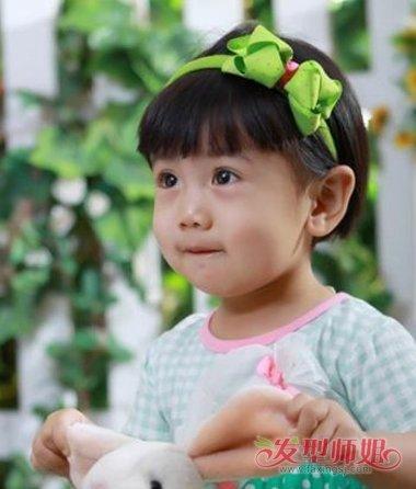 2岁女宝宝短发发型大全 最新儿童女孩短发发型-轻博客
