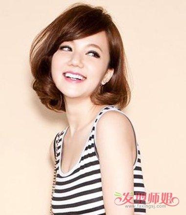 额头短的女生适合的发型 额头短的人适合什么发型