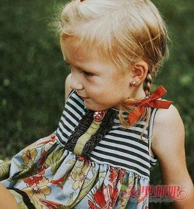 小女孩头饰的编发 各种头饰的扎法