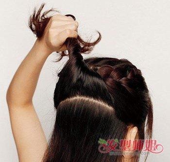 蜈蚣盘发器使用方法_盘发器蝎子辫的使用方法 蝎子辫怎么用盘发器(3)_发型师姐