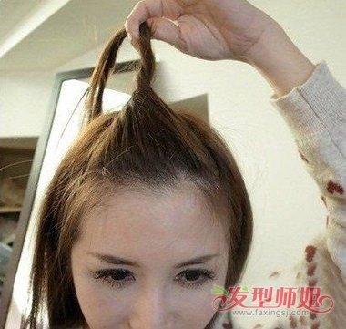 长头发的扎法图解_怎么把刘海扎上去图解 刘海怎么扎上去好看图解_发型师姐