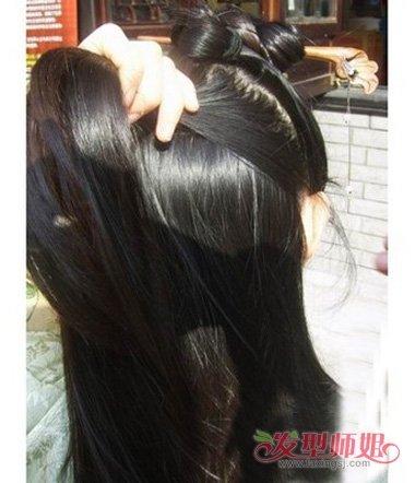 中国古代编发教程 中国最好看的发型