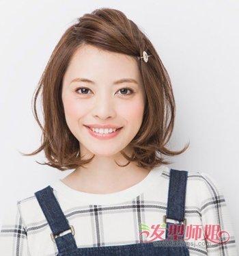 怎么把齐刘海扎起来子 有刘海的可爱扎发发型-轻博客
