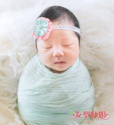 女婴儿发型图片大全 女婴幼儿的发型