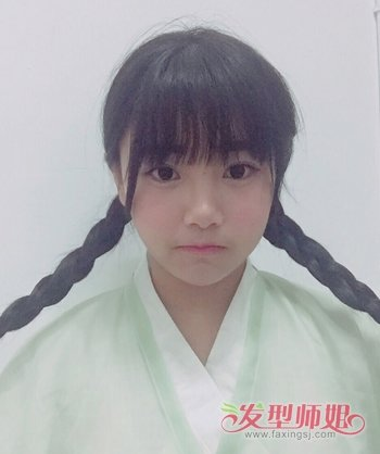 中国古代发型设计方法 古代女子编头发的步骤