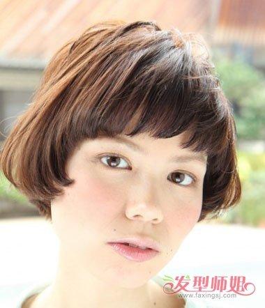 沙宣头型的剪法图片 中学生沙宣头剪发