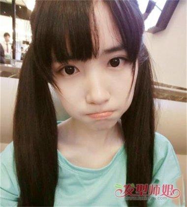 【初中英语语法总复习】初中女学生甜美好看的头型 可爱甜美扎辫子图片