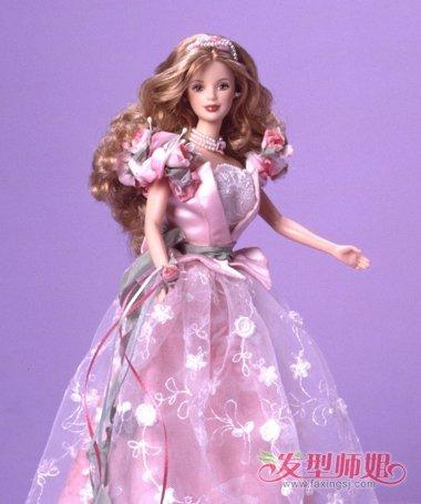芭比娃娃发型玩具图片大全 卡通娃娃发型大全