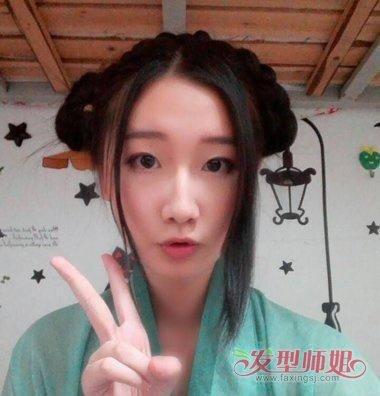 甜美古代发型怎么做 女生甜美发型绑法