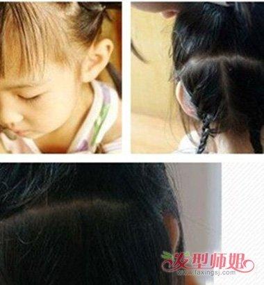 【小朋友头发不太长怎么回事】小朋友头发不太长怎么扎好看 小朋友好看的扎头发步骤图