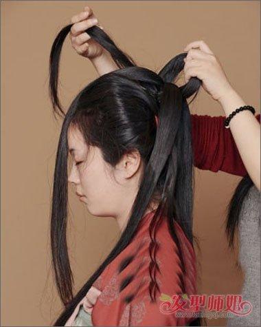 简易好看的古代女子发型 好看的简易古代发型教程