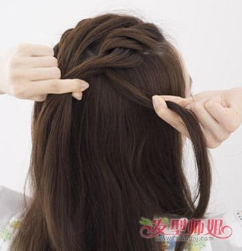 头发少简单编发教程 头发少的女生怎么编头发