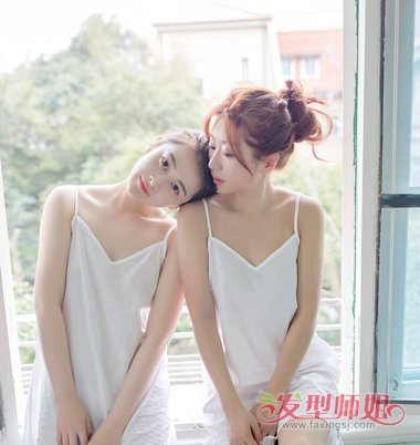 韩式简单盘发发型图片图解 韩式盘头发型步骤图片
