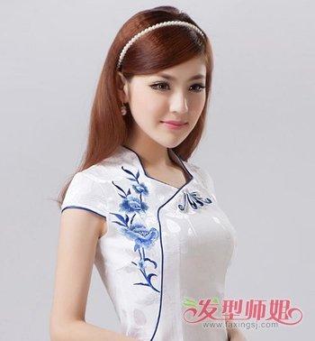 怎么样梳适合旗袍的简单发型 穿旗袍梳什么发型好看