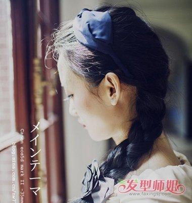 长发女生美丽的长辫子发型 如何编织美丽长发