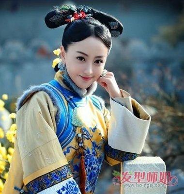 古代女人发型扎法 简单又好看的清朝女子发型
