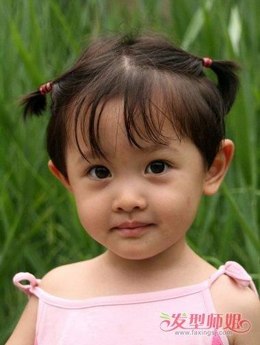 女宝宝发型短发一周岁