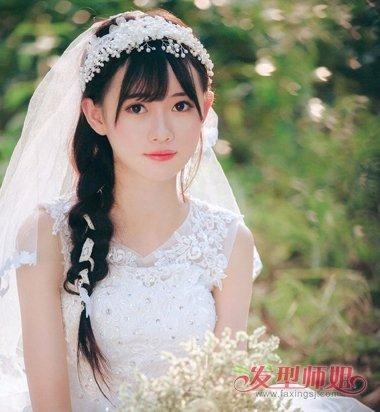 韩式新娘发型图片 2018最流行的韩式新娘发型-轻博客