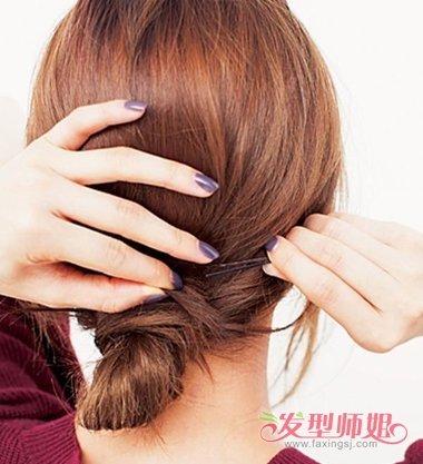 【2018女士发色】2018韩国女士扎发发型 2018年韩国最流行发型怎么扎