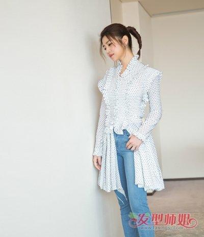 陈妍希鱼尾辫编发甜美减龄 女明星最值得尝试的五款个性编发发型