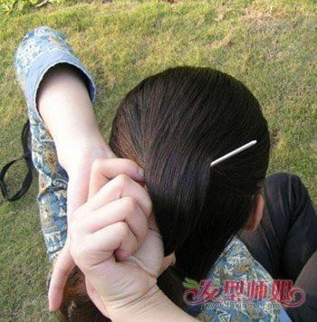 适合簪子的发型 发簪盘发发型步骤图解