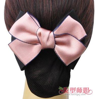 将头发盘起后藏进去的发饰叫什么 头发发饰用法图解
