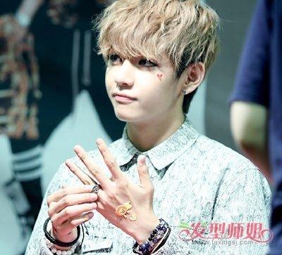 男生棕栗色头发图片什么样的 QQ头像栗色头发的少年