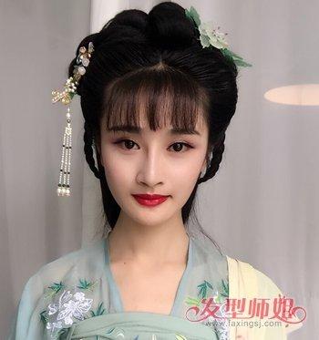 汉代女子发髻_汉朝妃子发型 汉代发型教程(12)_发型师姐