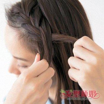 没有皮筋怎么扎辫子 不用皮筋扎辫子方法
