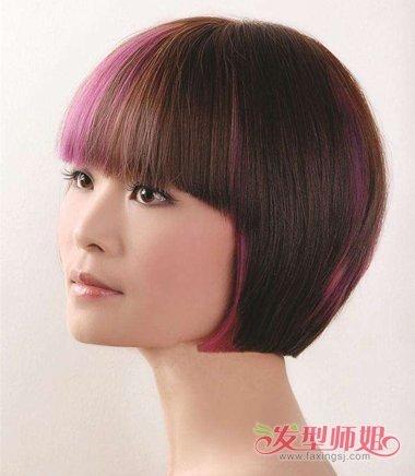 头发垫发根以后的图片_沙宣头垫发根图片效果图 沙宣头不垫发根好看吗