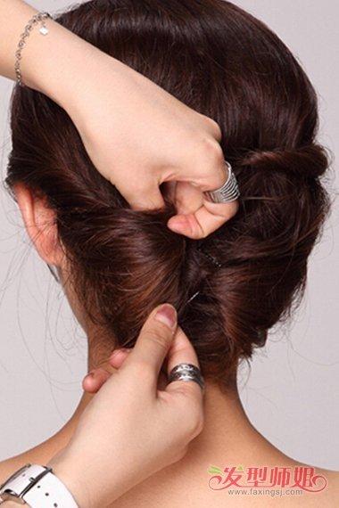 森系新娘编发教程图解 自带仙气的发型
