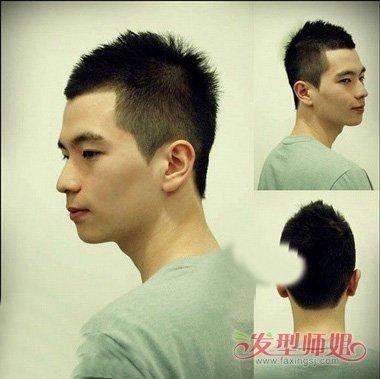 男士炮头剪法 酷发怎么剪要教程