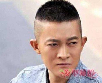 男生盖头两边抹去图片 半锅盖头发型男图片