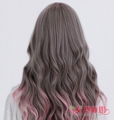 水波纹从哪烫好看 女生水波纹烫发发型