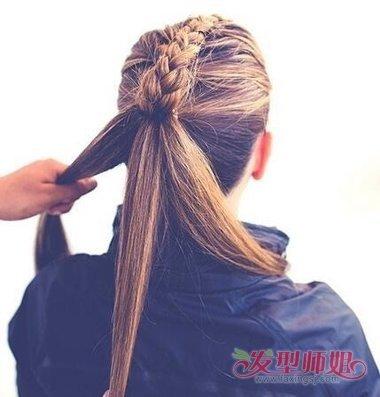 教你编清爽辫子步骤图解 女生清爽简单辫子发型编法