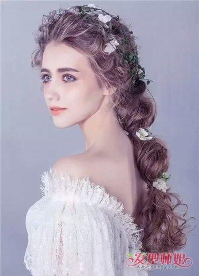 新娘森系发型图片 森系唯美发型