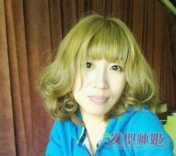 深闷青亚麻色头发图片_闷青色头发适合什么人 深闷青亚麻色头发图片_发型师姐
