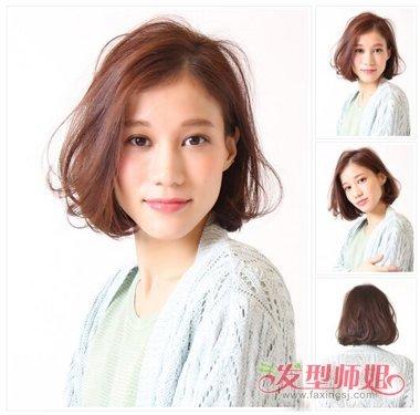大长脸适合剪波波头吗 时尚流行女生发型