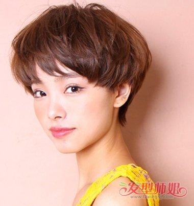 美女剃耳上的波波头发型 2018年最新女生波波头短发发型