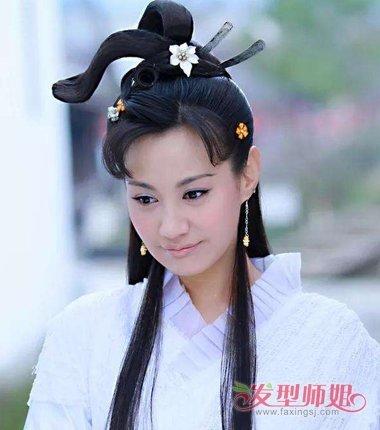 电视剧作品中古代灵蛇髻怎么梳 超简单灵蛇髻发型教程图解给头发做立体呈现