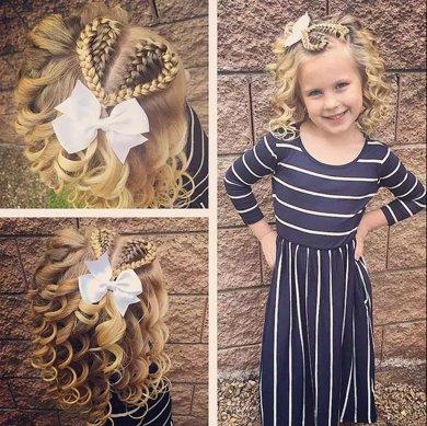 家有小公主如何做编发 小女孩公主风编发发型变美如此简单