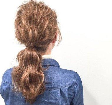 再次爱上自己的原因 仅仅是因为森系长卷发扎发发型