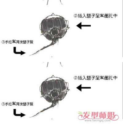 【挽发髻简单好看的步骤】男士留发髻好看吗 古代男子发髻的盘法