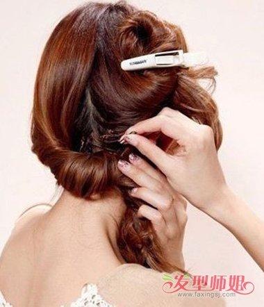 女生编发桃心发型大全 发型扎法图解