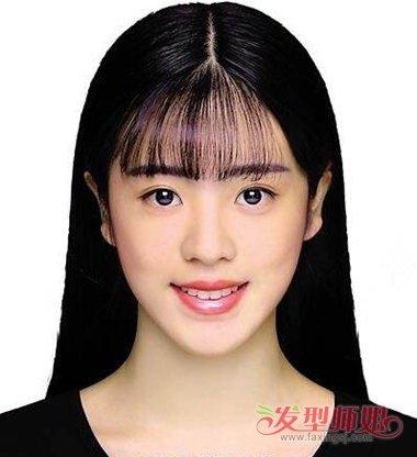 拍身份证可以有刘海吗 平刘海怎么拍身份证-轻博客
