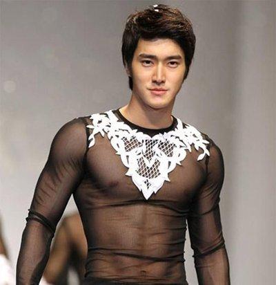 男明星偏分发型图片 韩版男士偏分发型图片